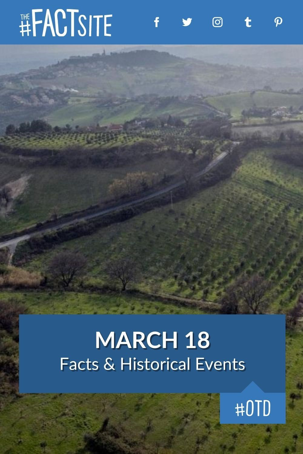 Facts & Historic Events That Happened on March 18