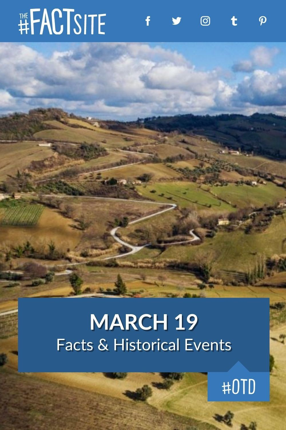 Facts & Historic Events That Happened on March 19