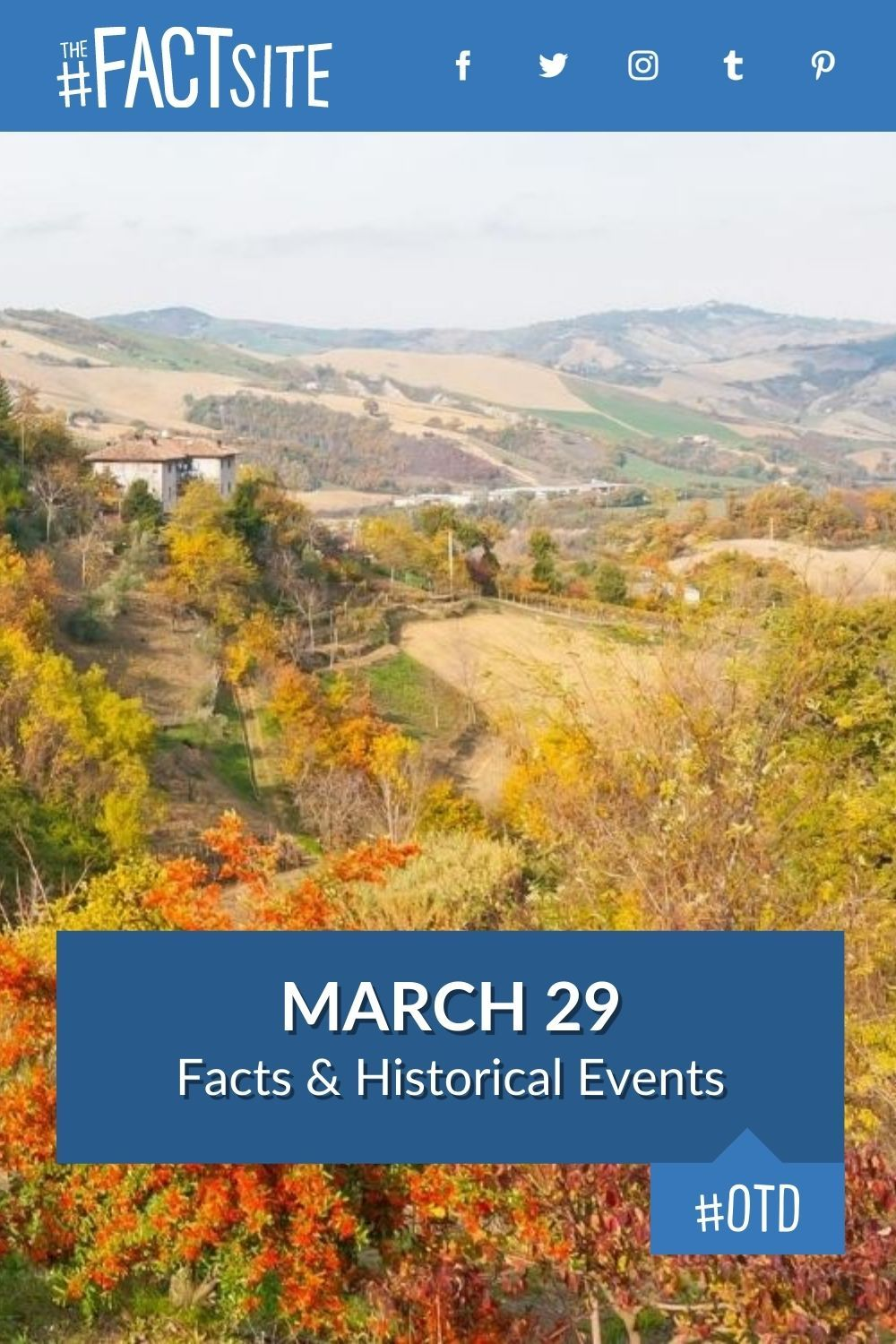 Facts & Historic Events That Happened on March 29