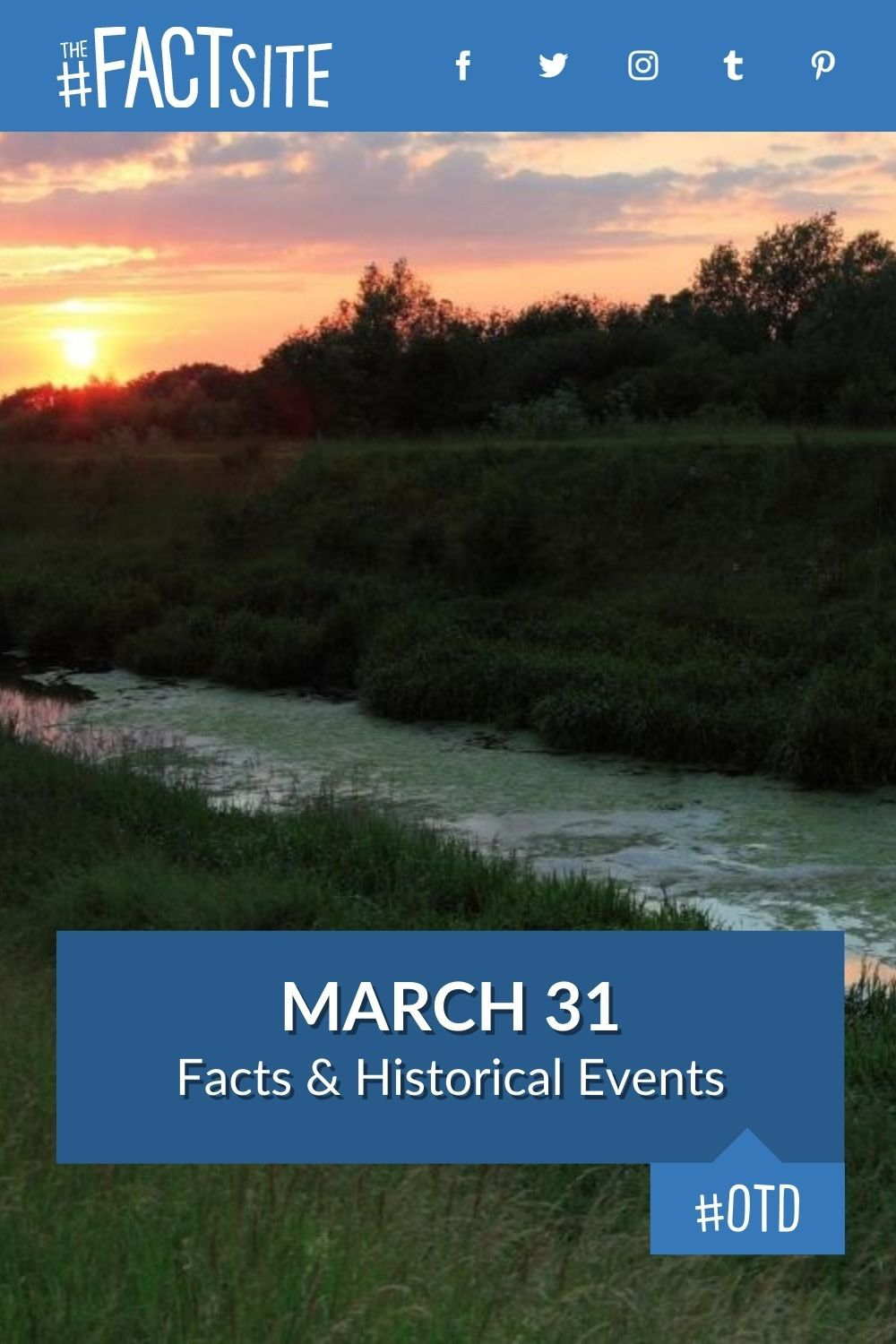 Facts & Historic Events That Happened on March 31