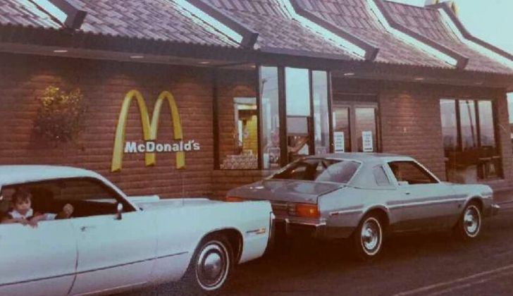 OTD in 1975: The world's first McDonald's drive-through was opened in Arizona.