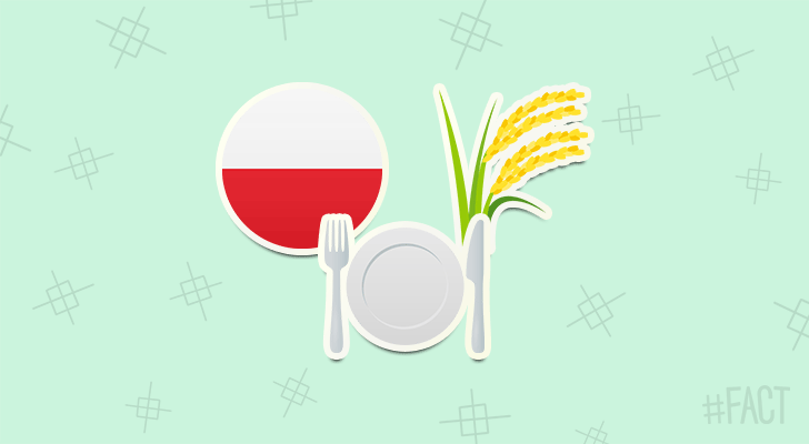 A company in Poland makes dinnerware out of wheat, so you can eat your plate!