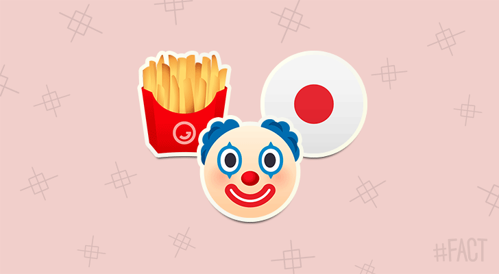 "Ronald McDonald is ""Donald McDonald"" in Japan because it makes pronunciation easier for the Japanese."