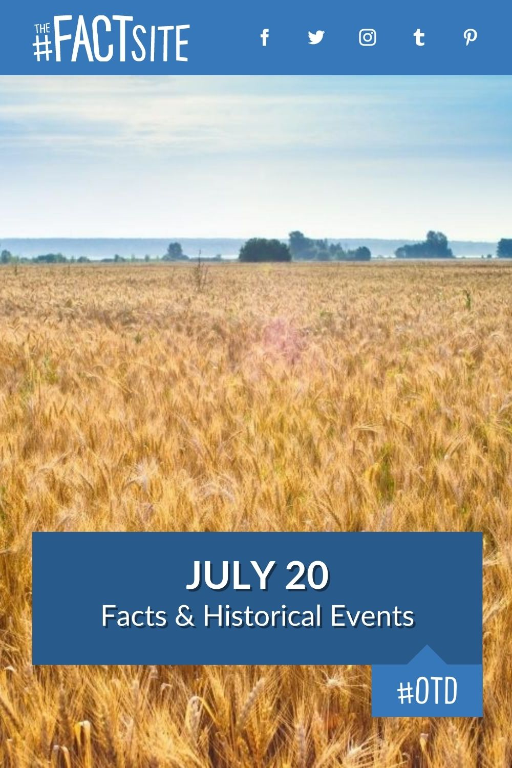 Facts & Historic Events That Happened on July 20