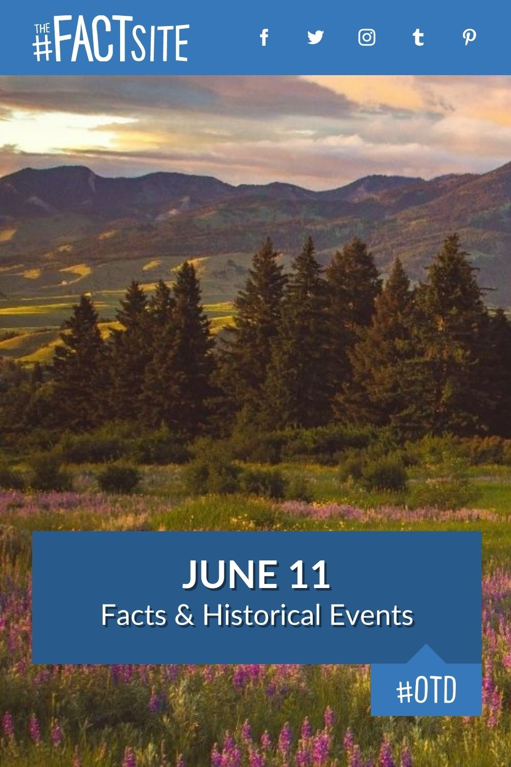 Facts & Historic Events That Happened on June 11