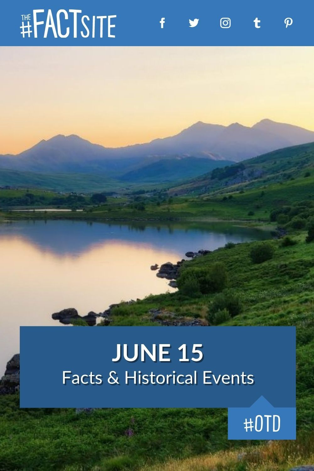 Facts & Historic Events That Happened on June 15