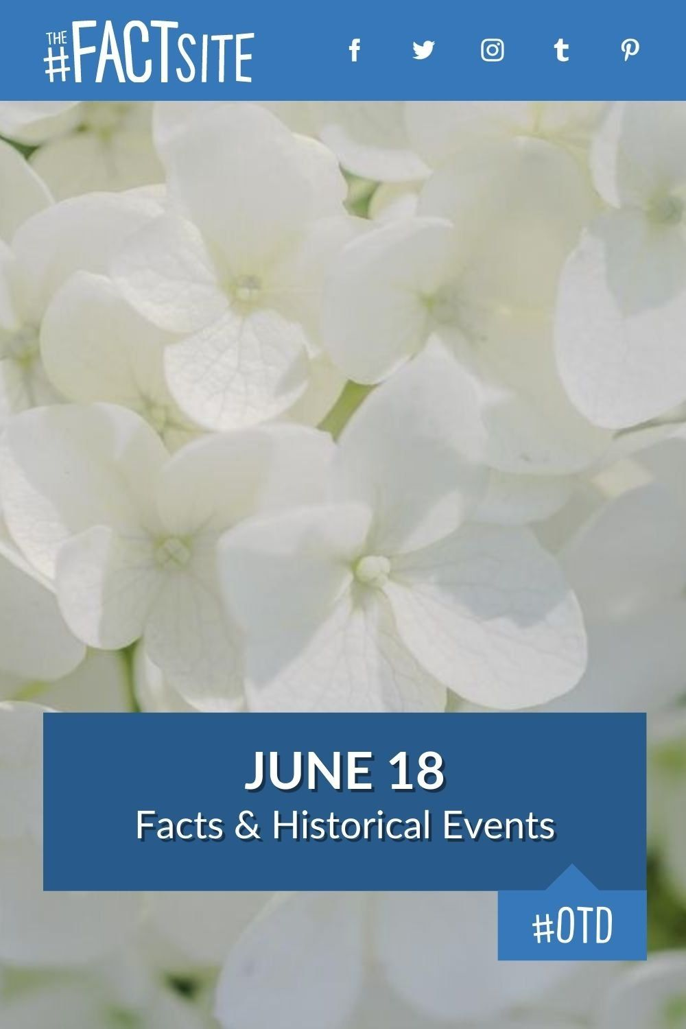Facts & Historic Events That Happened on June 18