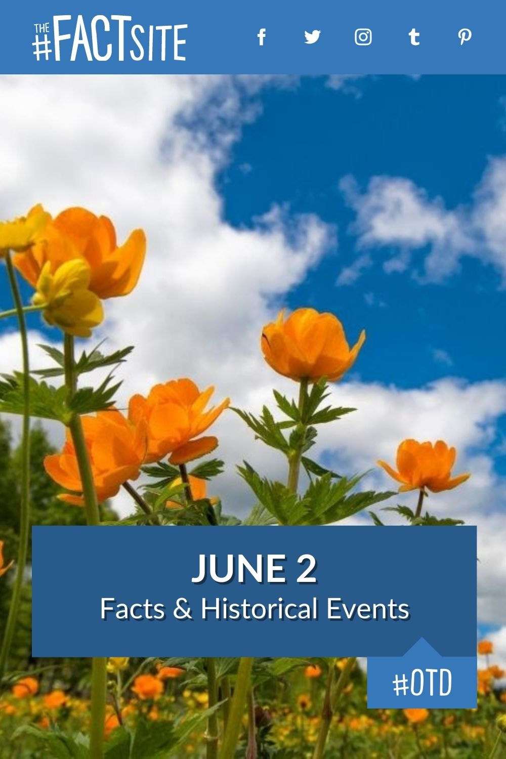 Facts & Historic Events That Happened on June 2