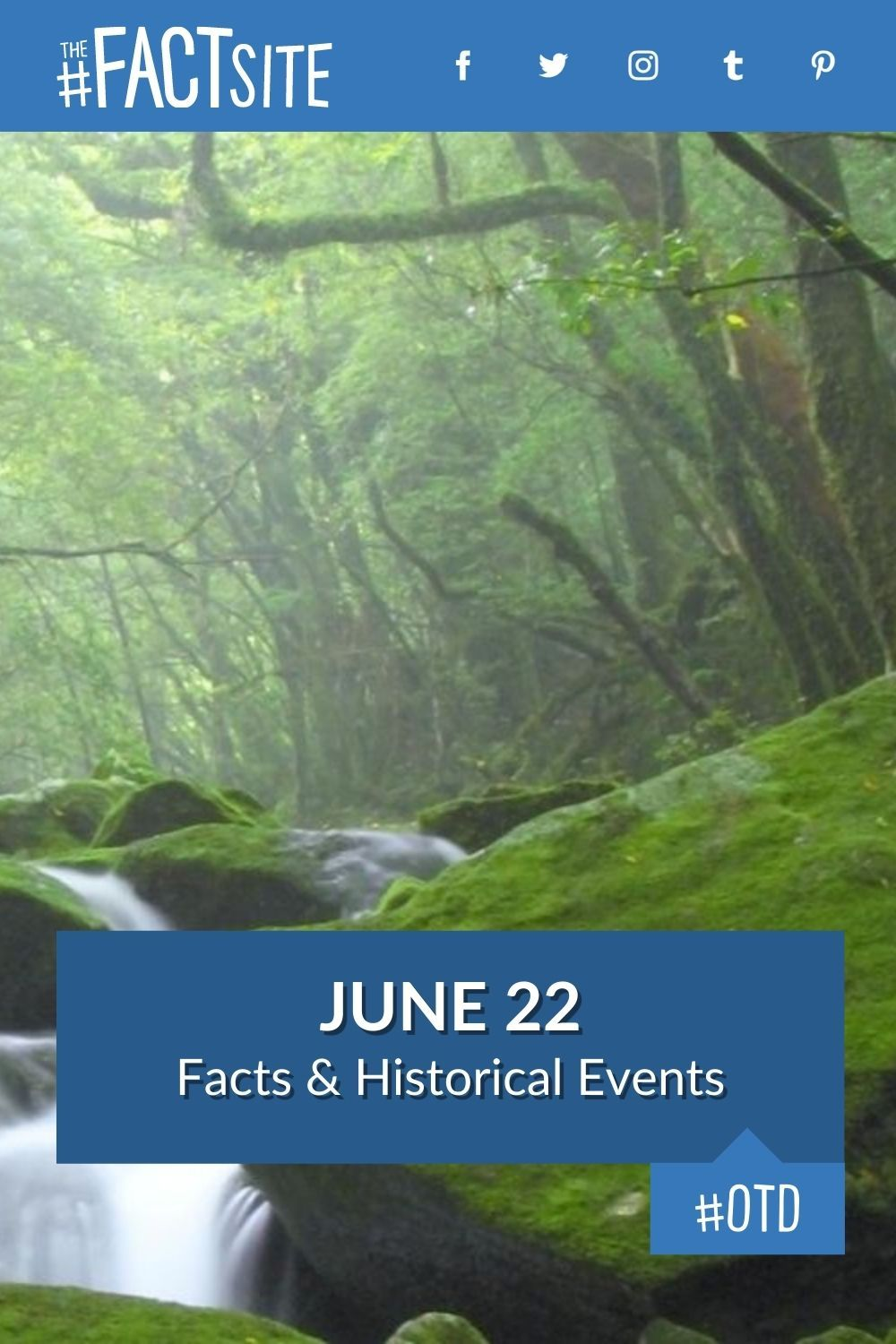 Facts & Historic Events That Happened on June 22
