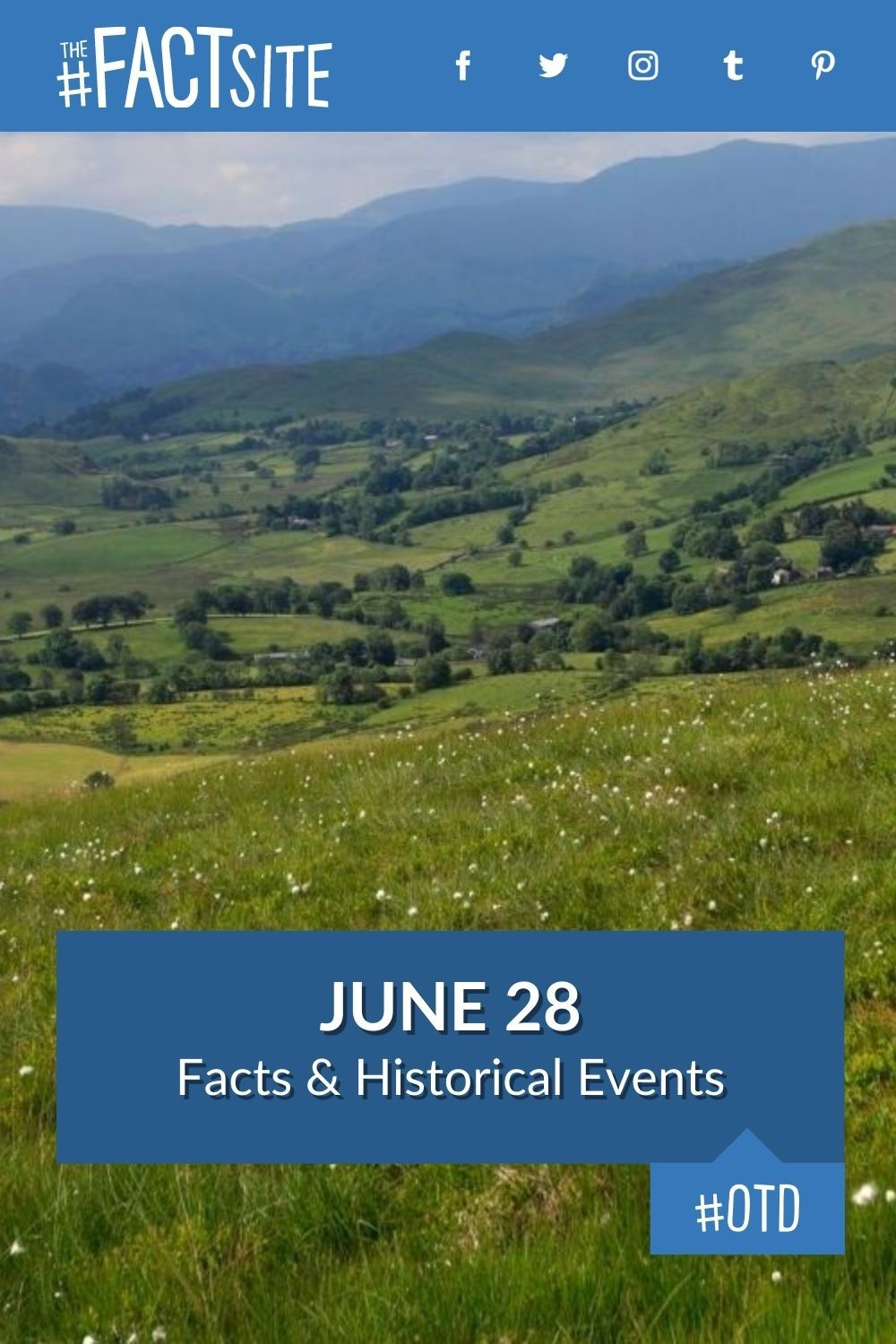 Facts & Historic Events That Happened on June 28