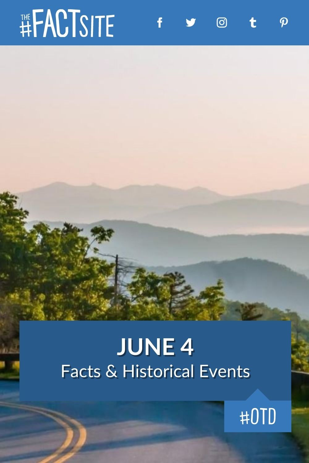 Facts & Historic Events That Happened on June 4