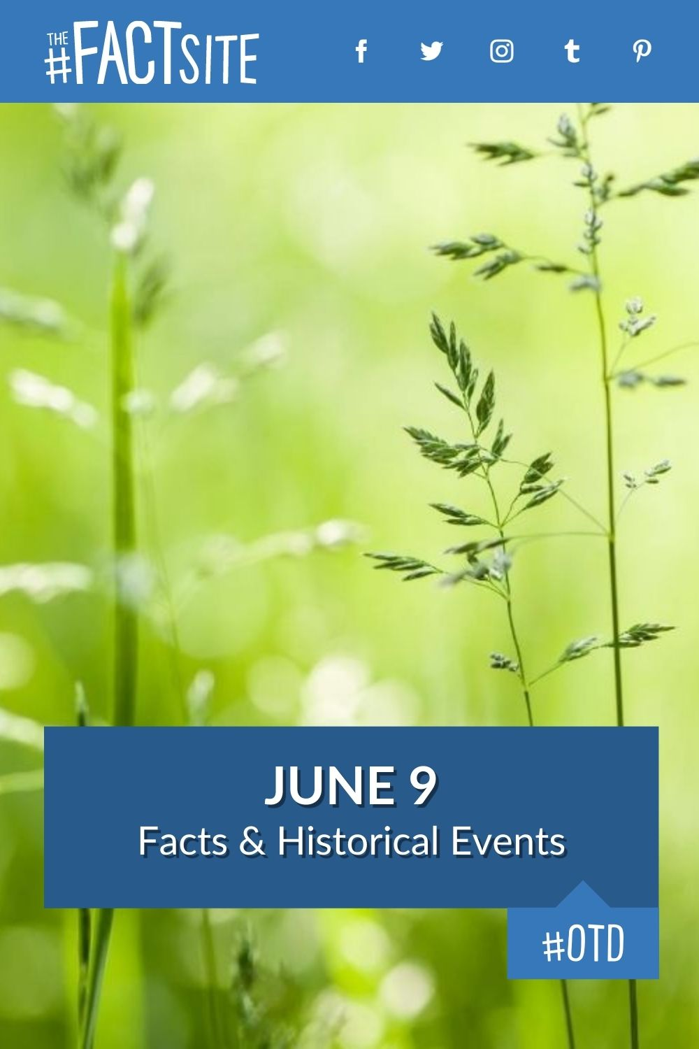 Facts & Historic Events That Happened on June 9