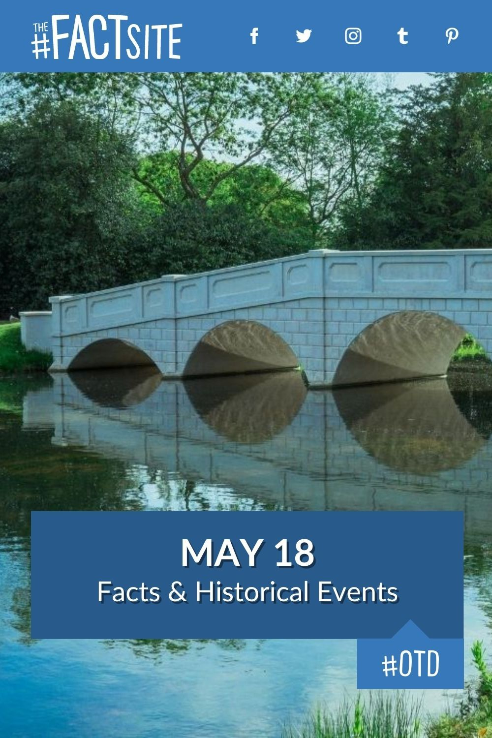 Facts & Historic Events That Happened on May 18