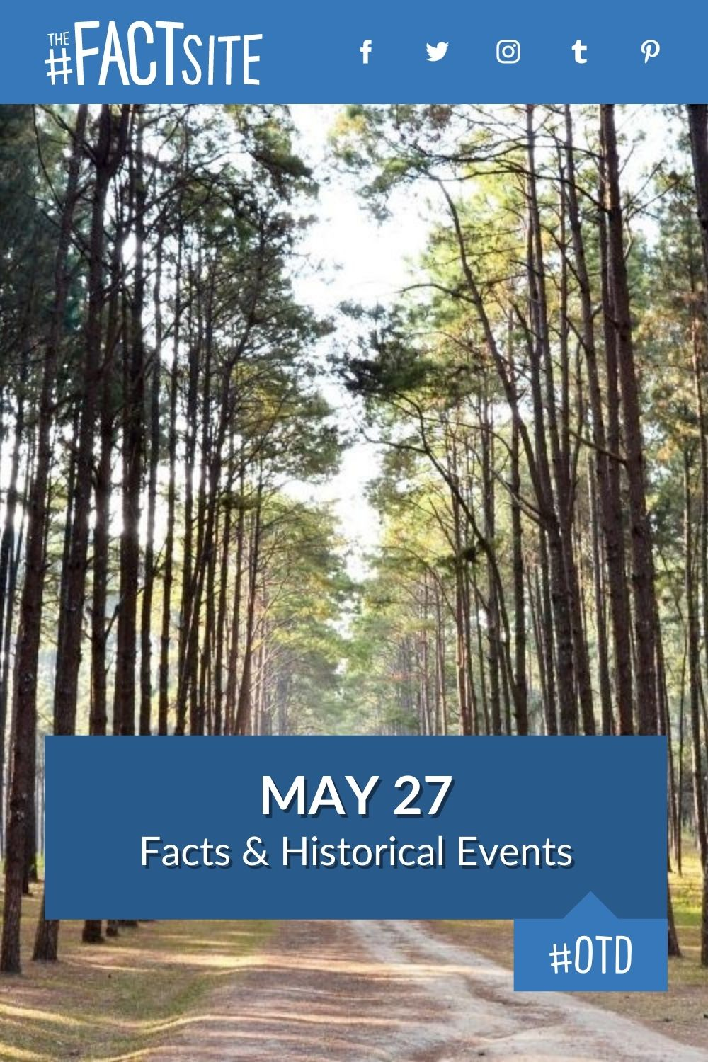 Facts & Historic Events That Happened on May 27