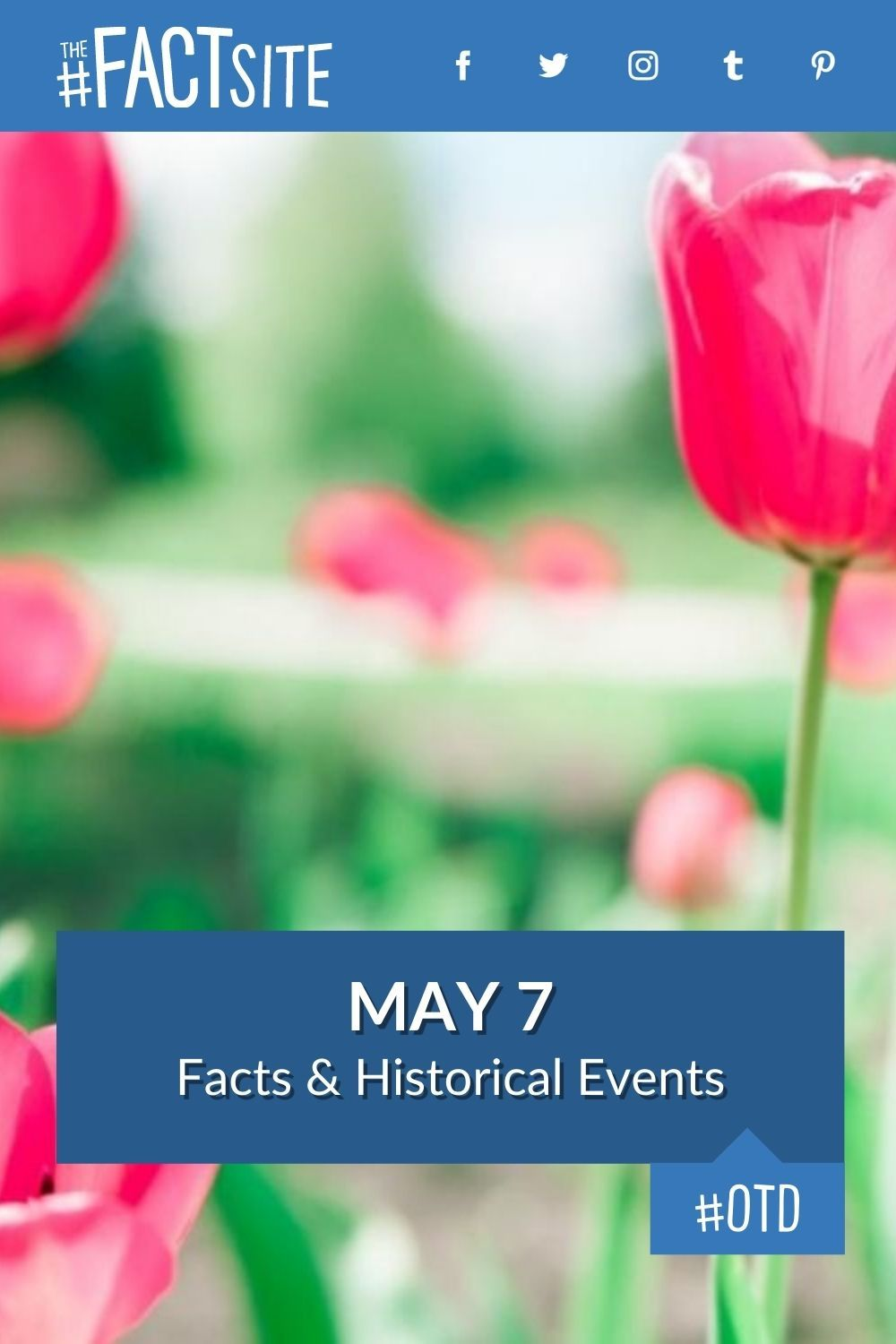 Facts & Historic Events That Happened on May 7