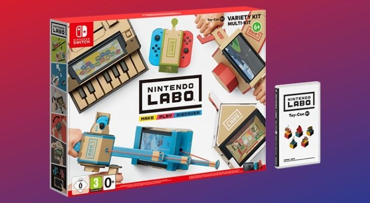 The Nintendo Labo box set