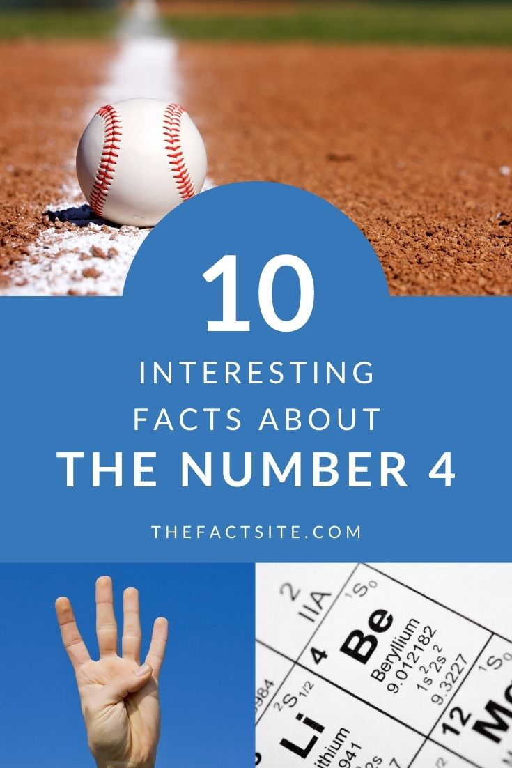 10 Interesting Facts About The Number 4
