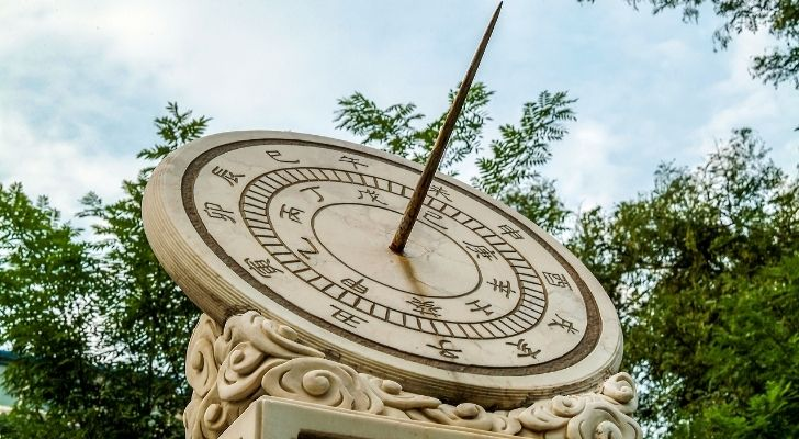 A Chinese sundial
