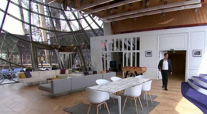 A modern look at the hidden apartment inside Eiffel Tower