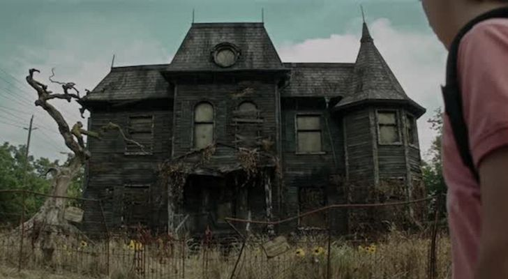 The haunted house in the movie IT set in Derry