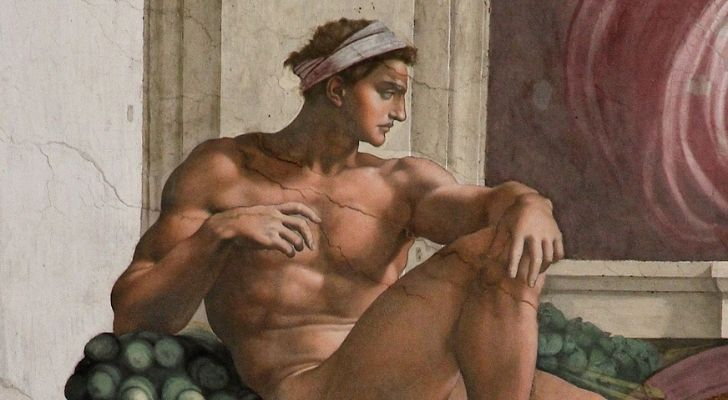 A painting of Cavalieri by Michelangelo