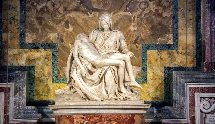 Michaelangelo's Pieta sculptor