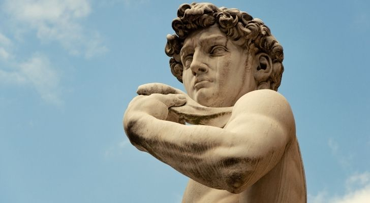 Michael Angelo was rich but lived a modest life