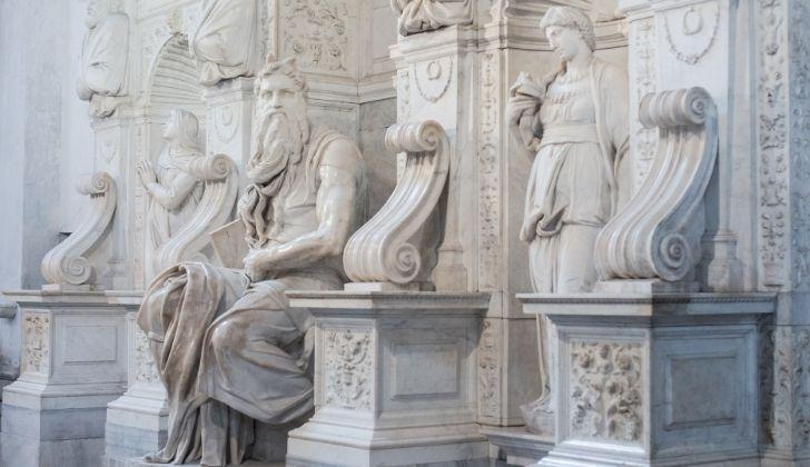 Michelangelo's Moses sculptor