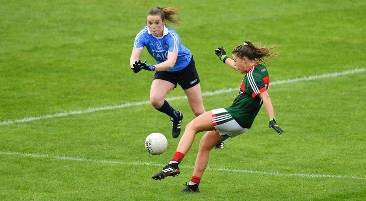 Women's Gaelic football players