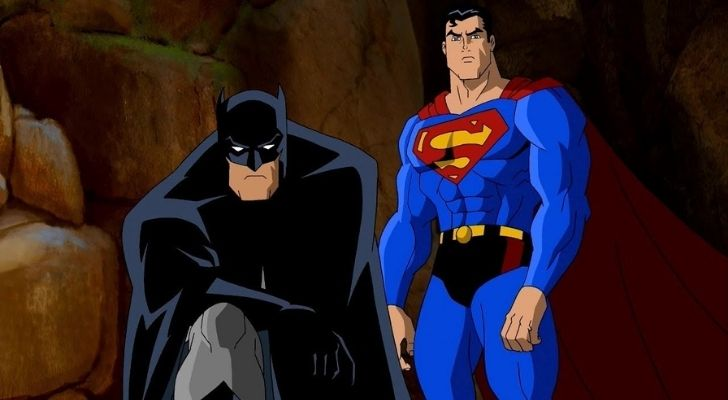 Superman and batman together as allies
