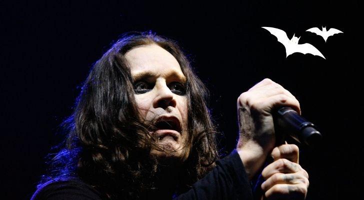 Ozzy Osbourne performing