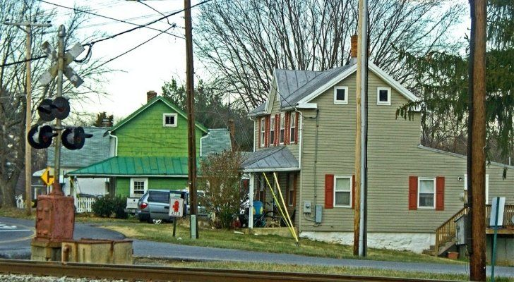 A street view of the place called Boring in Maryland