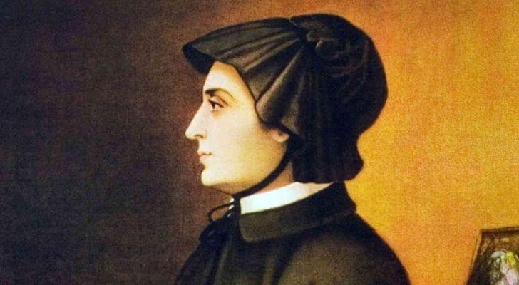 A painting of Elizabeth Ann Seton