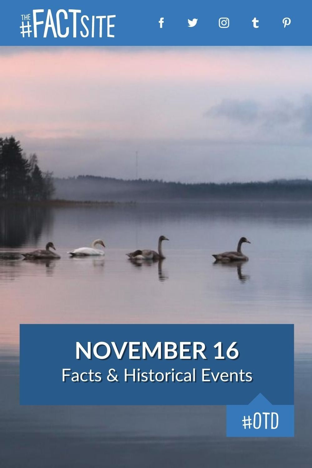 Facts & Historic Events That Happened on November 16