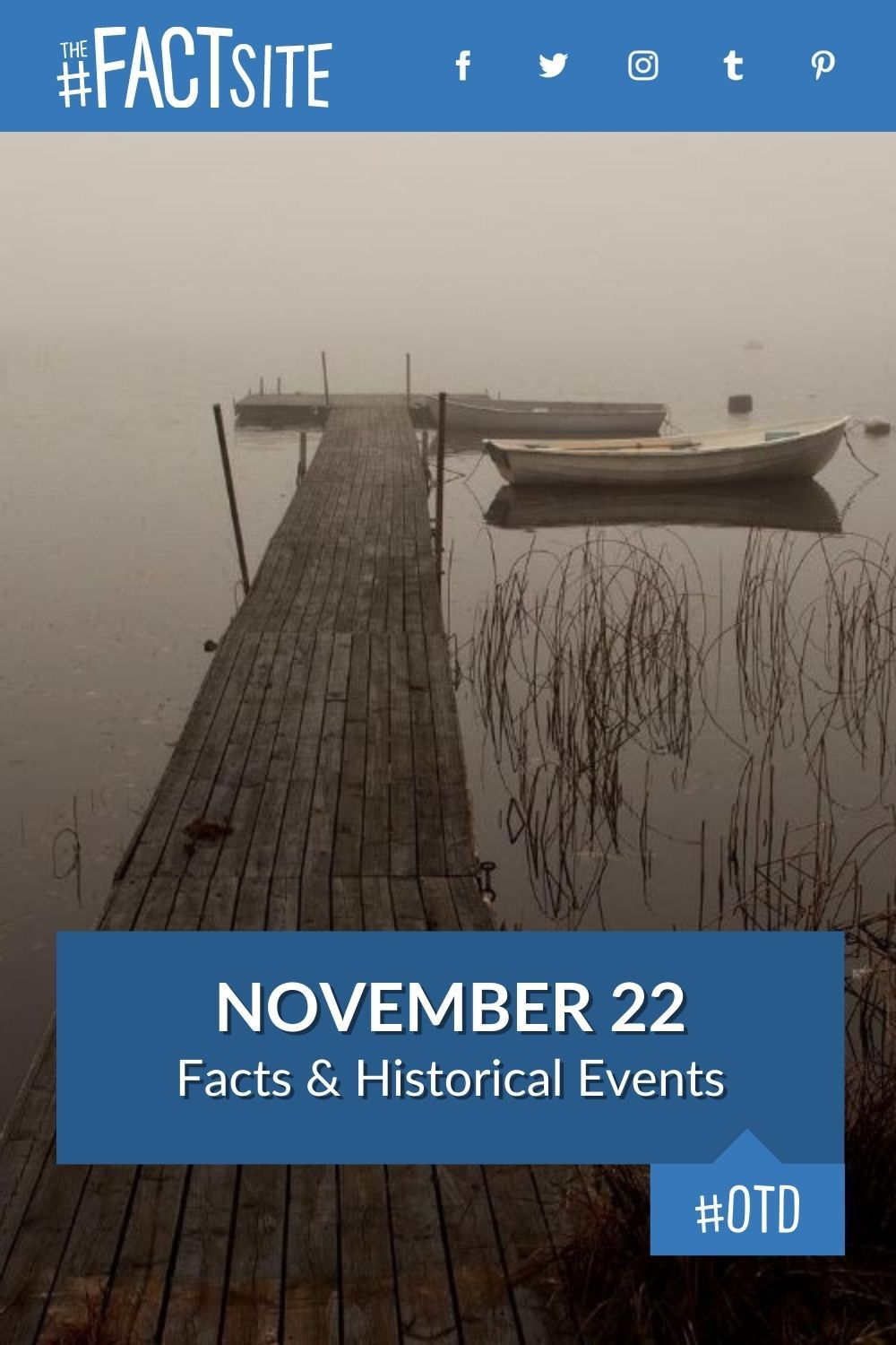 Facts & Historic Events That Happened on November 22