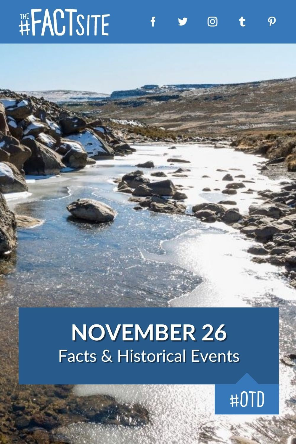 Facts & Historic Events That Happened on November 26