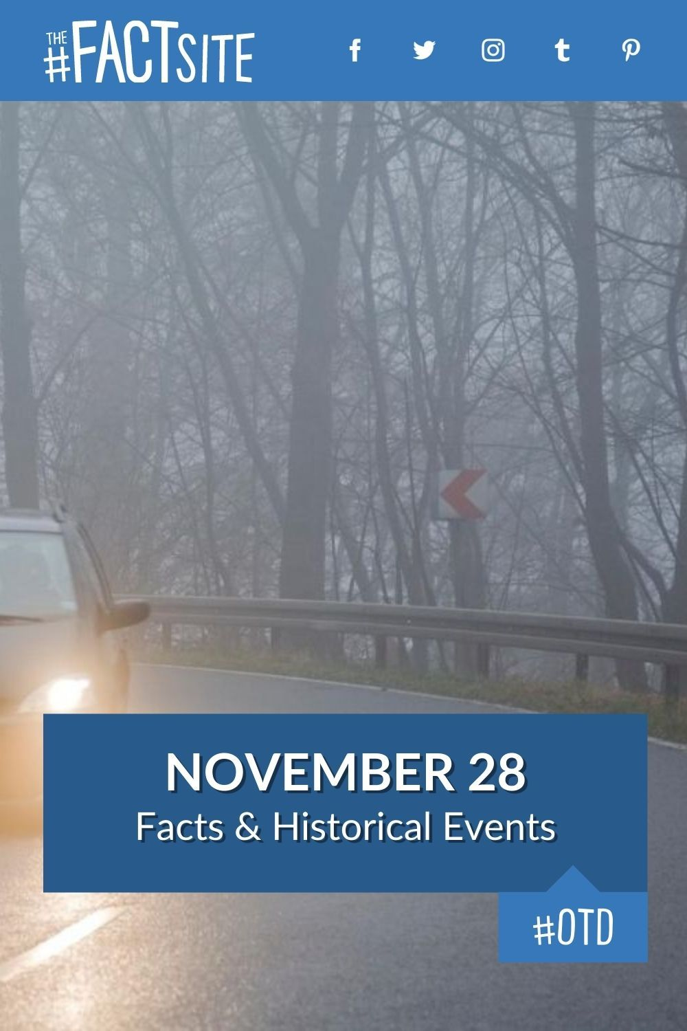 Facts & Historic Events That Happened on November 28