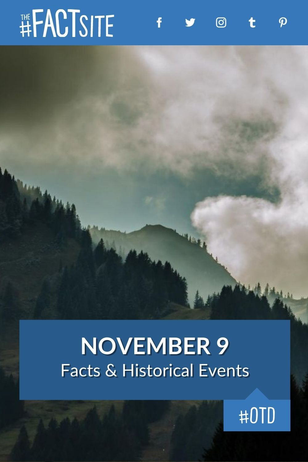 Facts & Historic Events That Happened on November 9