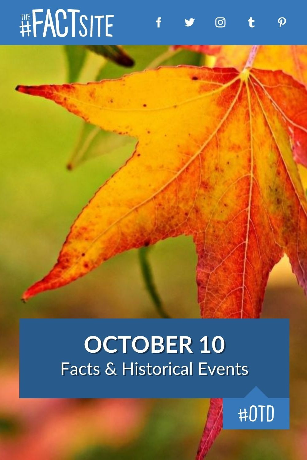 Facts & Historic Events That Happened on October 10