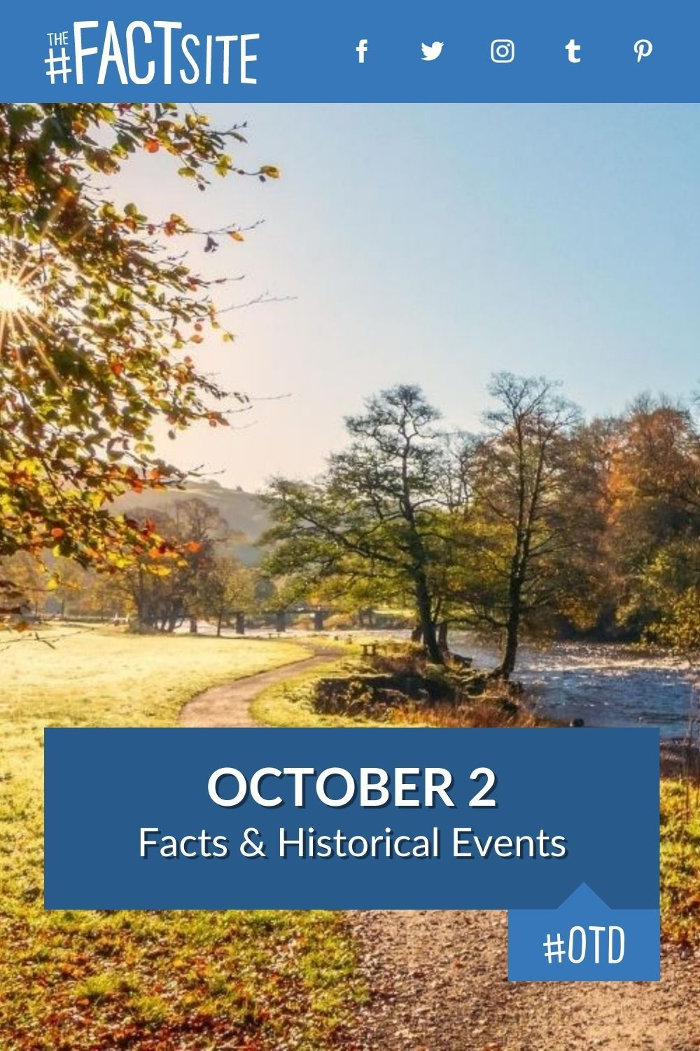 Facts & Historic Events That Happened on October 2