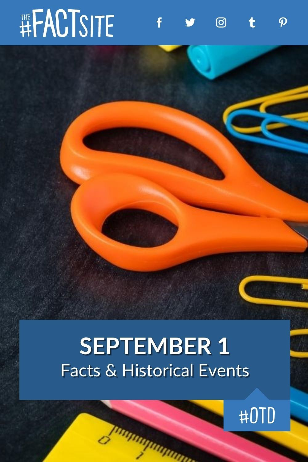 Facts & Historic Events That Happened on September 1