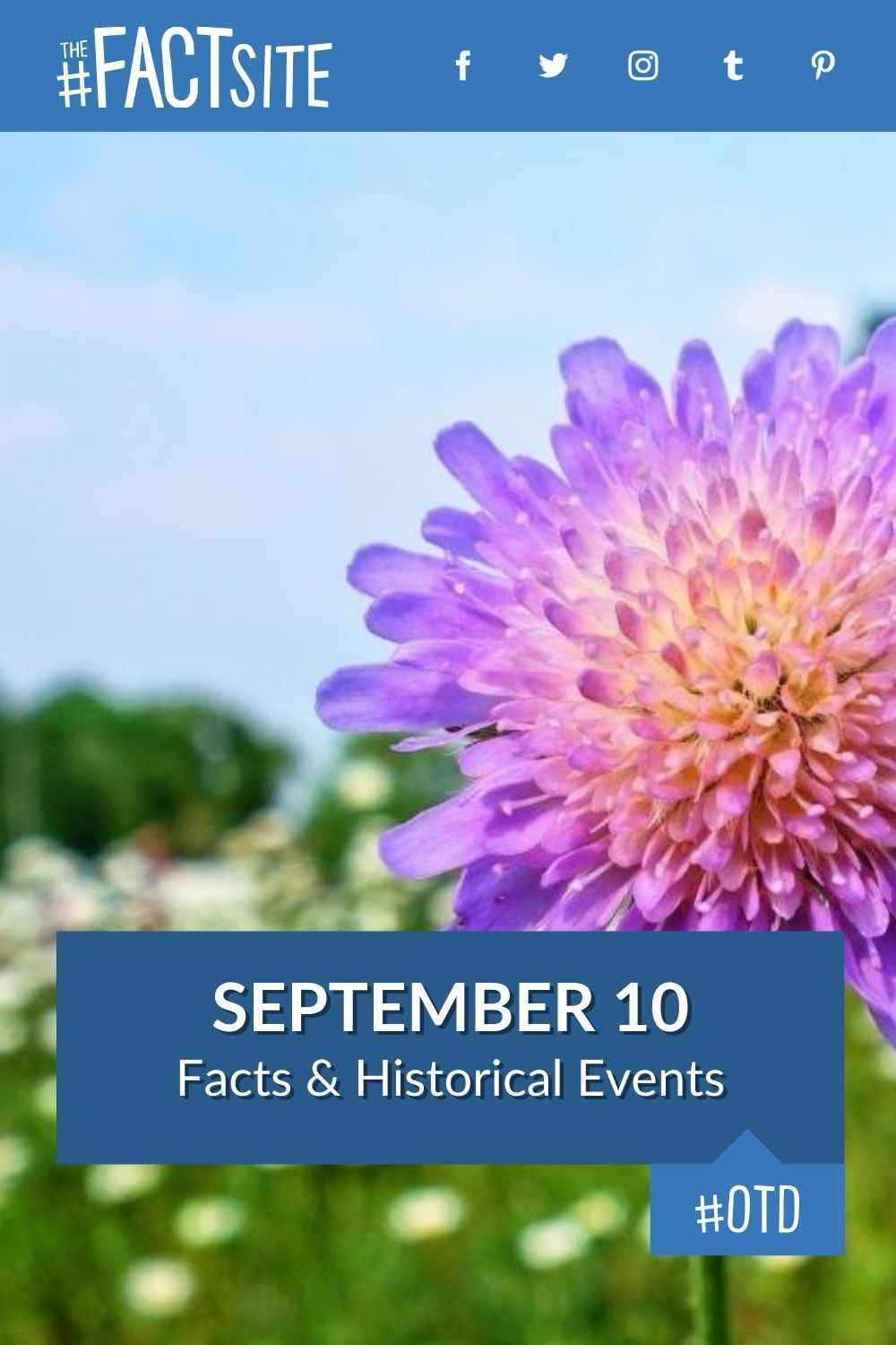 Facts & Historic Events That Happened on September 10