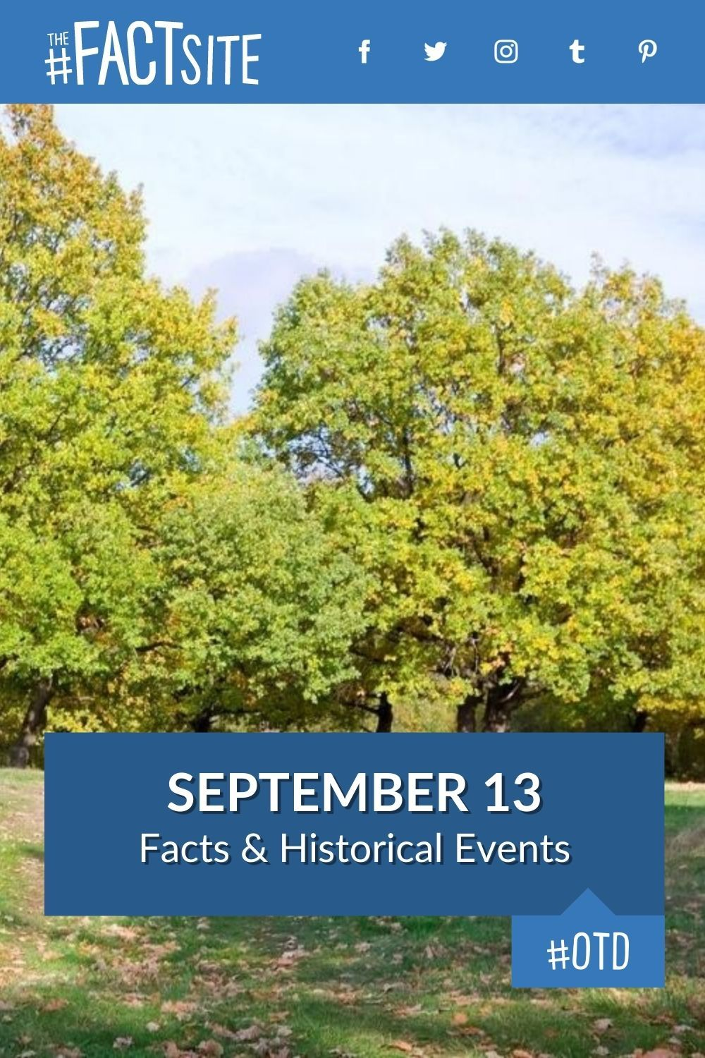 Facts & Historic Events That Happened on September 13