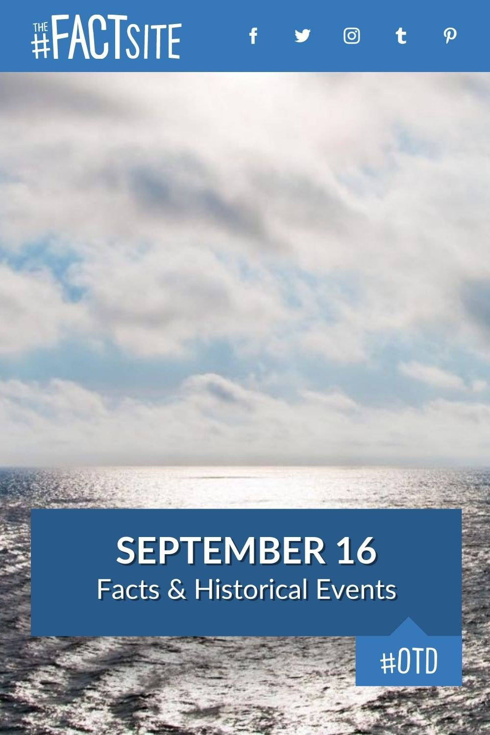 Facts & Historic Events That Happened on September 16