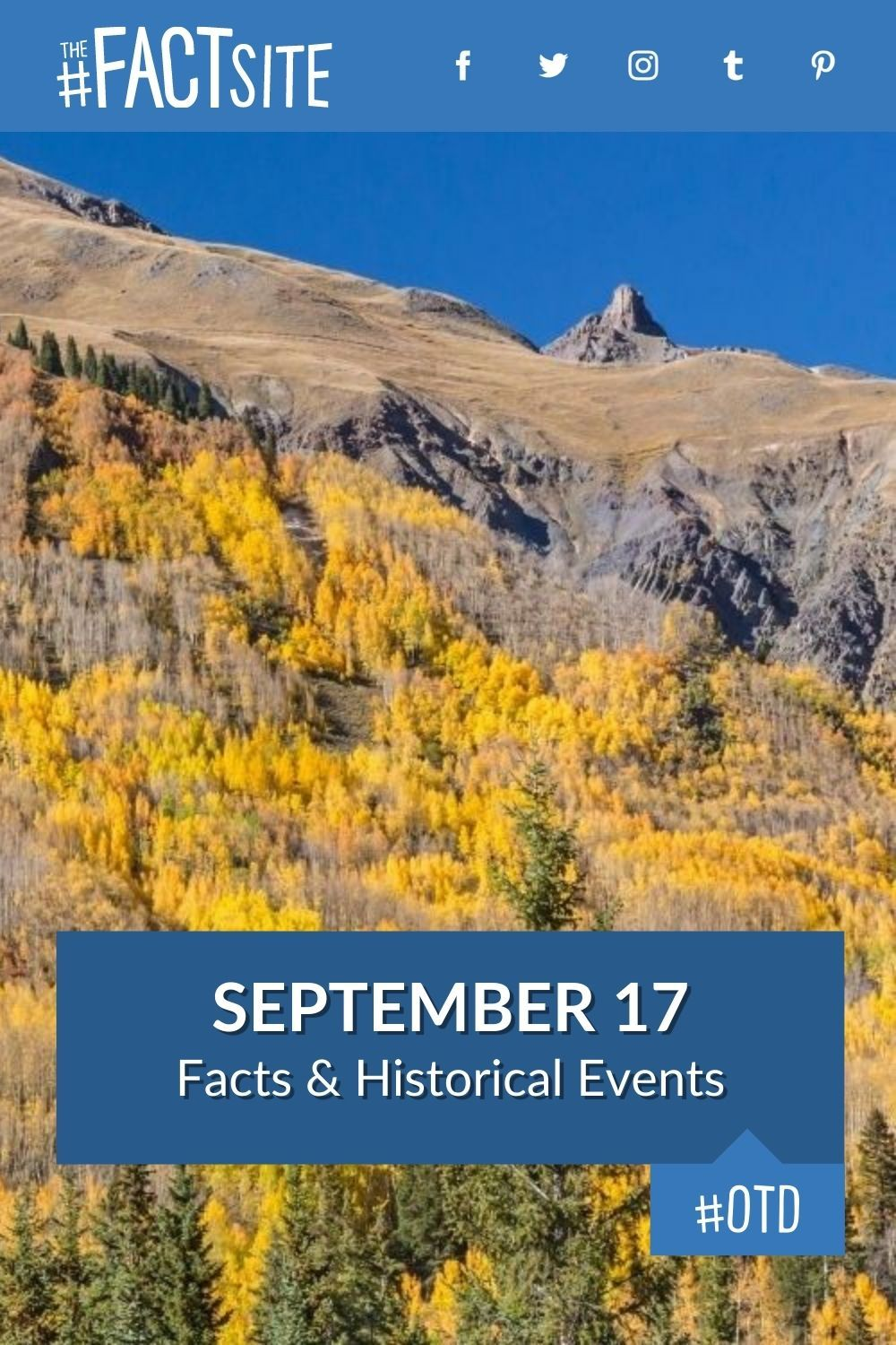 Facts & Historic Events That Happened on September 17