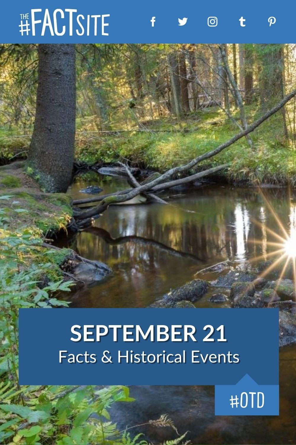 Facts & Historic Events That Happened on September 21