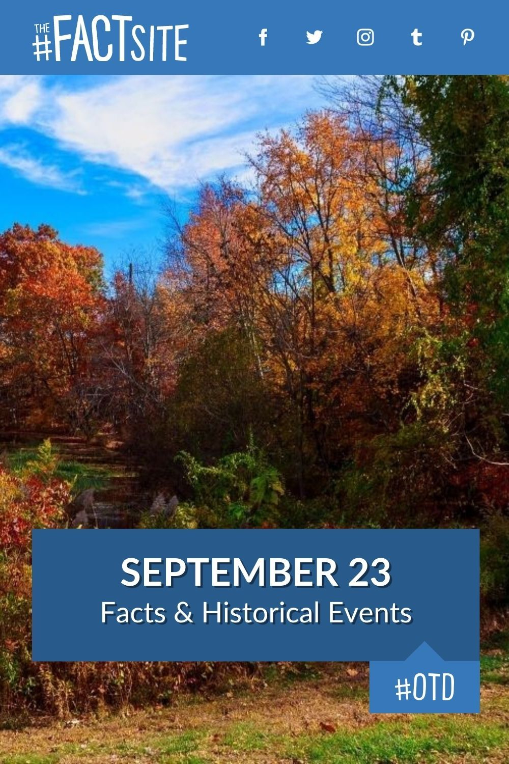 Facts & Historic Events That Happened on September 23
