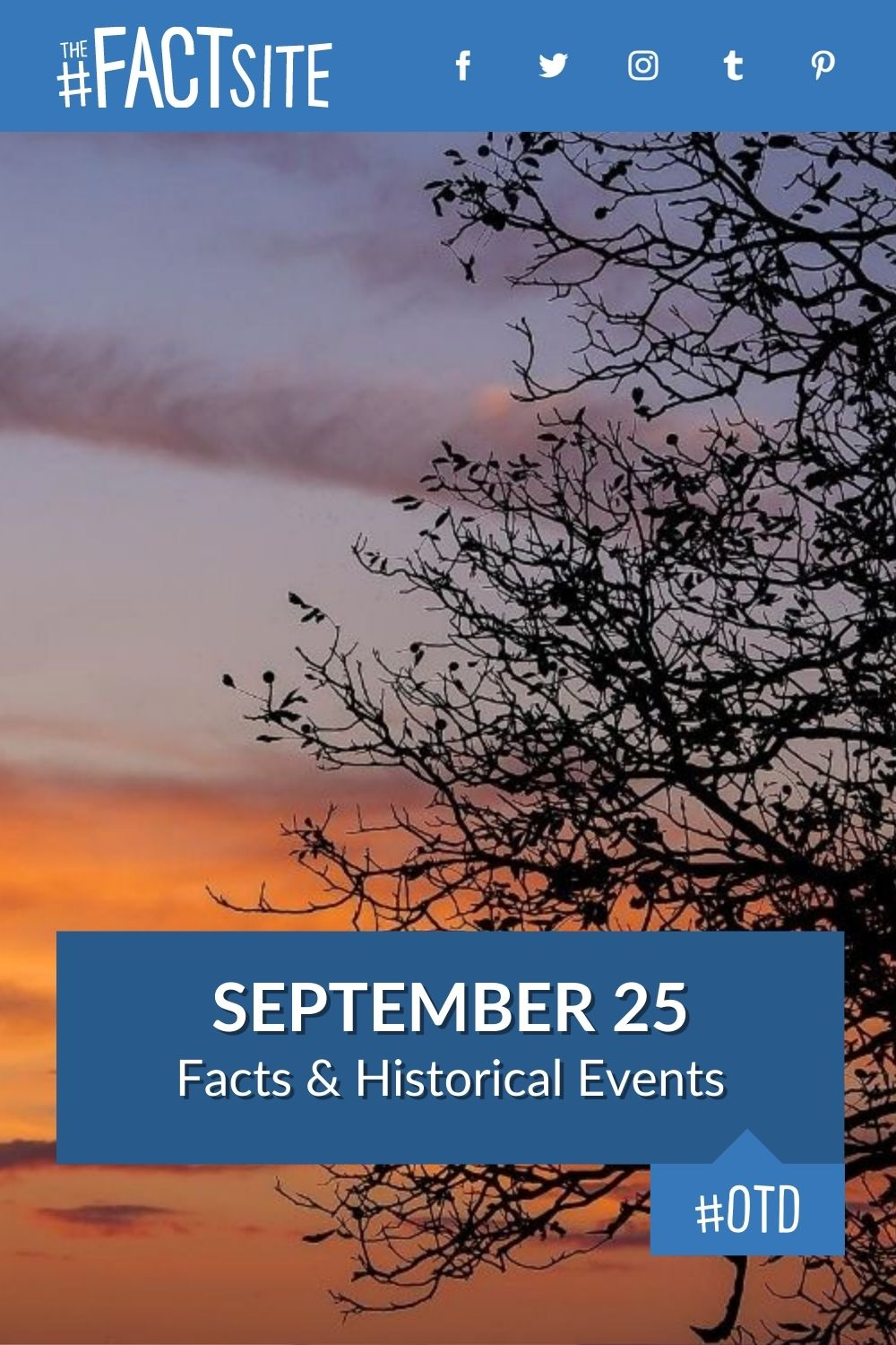Facts & Historic Events That Happened on September 25
