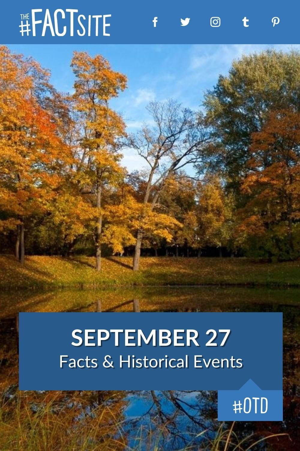 Facts & Historic Events That Happened on September 27