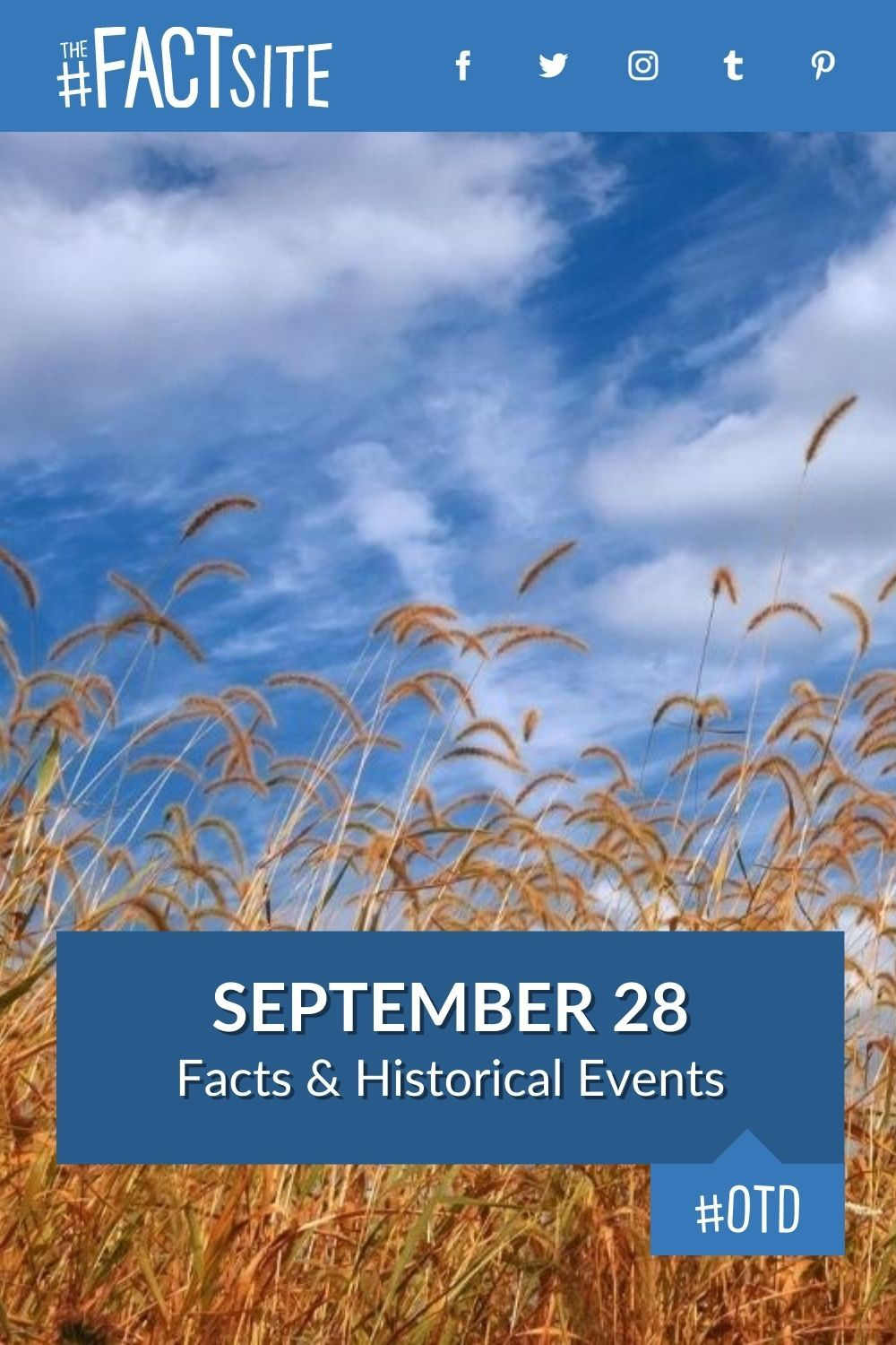 Facts & Historic Events That Happened on September 28